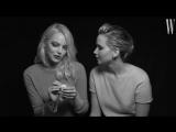 Дженнифер Лоуренс и Эмма Стоун в интервью для W