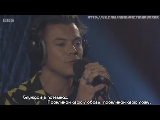 Harry styles interview with clara amfo for bbc radio 1 and harry styles - bbc radio 1's live lounge month 2017 [rus sub]