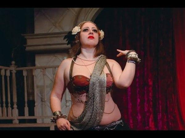 Maria Levitan (Masha Lys) - Sirin Tribe - tribal fusion @ Sahra Party SIBTRIBAL 2018