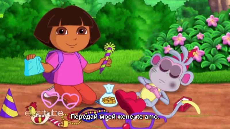 Ellen Exclusive Brand New Dora the Explorer Movie Trailer RUS SUB