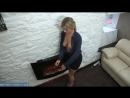 Молоденькая мама с красивой грудью греется возле камина milf, mature, милф, мамки