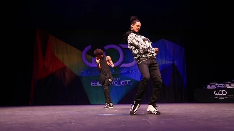 Les Twins - FRONTROW - World of Dance 2014 WODHI BreatheFM
