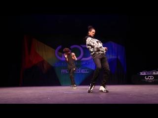 Les Twins - FRONTROW - World of Dance 2014 #WODHI #BreatheFM