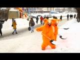 #снегоАД - Рыжие Коты спасают Москву от снега)))