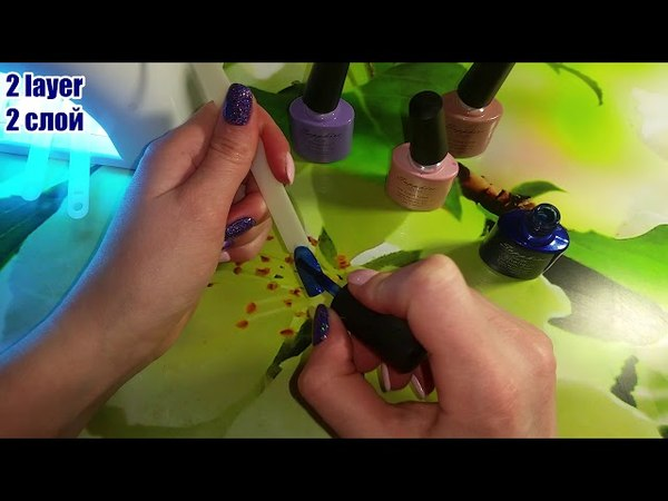 Sapphire UV GEL review of gel varnish with AliExpress 9 обзор гель лака с AliExpress 9