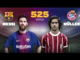 ? Messi equals Gerd Muller with 525 goals for one club in the top European leagues.
