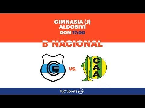 Primera B Nacional: Gimnasia (J) vs. Aldosivi