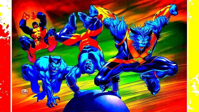 Marvel Infinity War ep1 (Beast/Зверь) [Captain America Avengers] Марвел Война Бесконечности Эп. 1