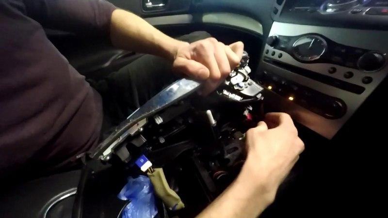 Nissan Skyline (2006-2013) - Снятие магнитолы на Nissan Skyline V36 - Звук сделайте потише...