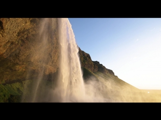 Iceland cascades