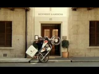 Реклама службы курьерской доставки