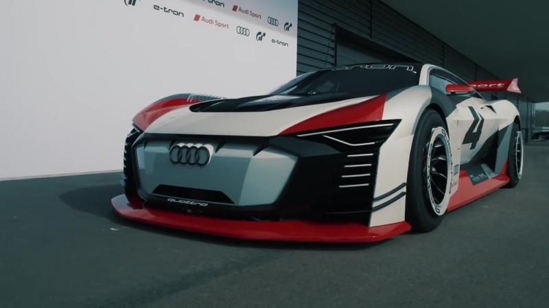 Audi e-tron Vision GranTurismo