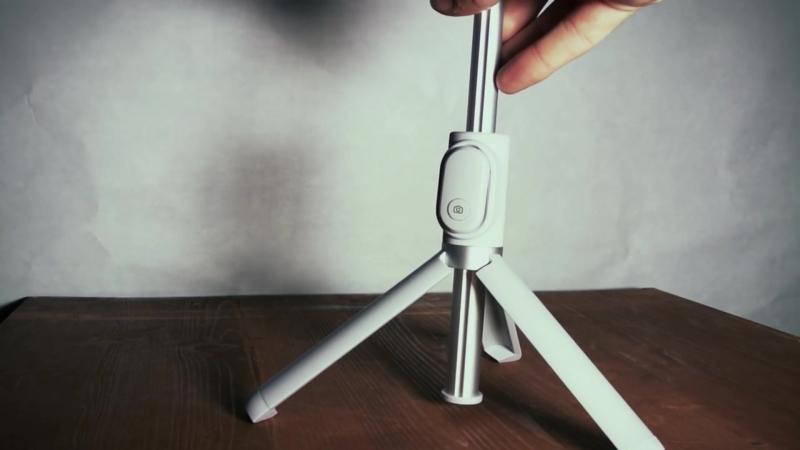 Xiaomi Mi Tripod Selfie Stick - обзор нового трипода с пультом
