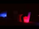 Светящаяся мебель стулья столы вазы Обзор светящейся мебели из акрила оргстекла от