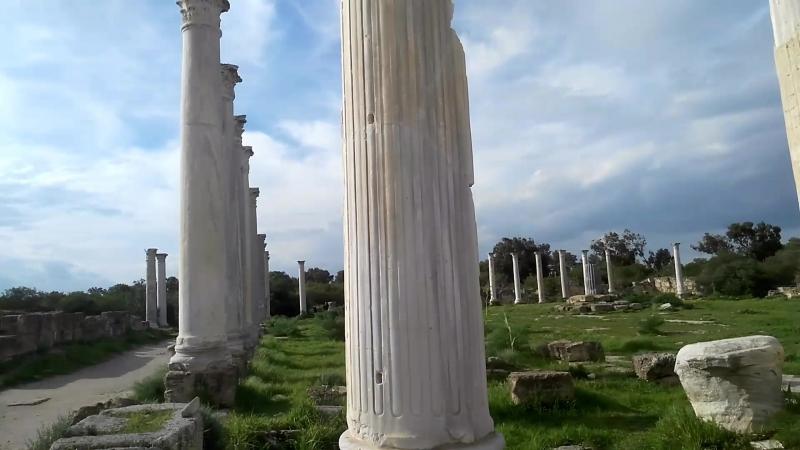 Руины Саламина, Фамагуста, Кипр