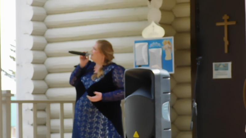 с.Пугачево,храм Иконы Пресвятой Богородицы «Неупиваемая чаша».Мы пойдем с конём,поёт Екатерина Шкляева