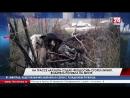 На Трассе Алушта Судак Феодосия сгорел Infiniti Водитель погибла на месте
