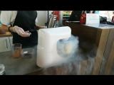 Приготовление молекулярного мороженого NAVI Ice Cream