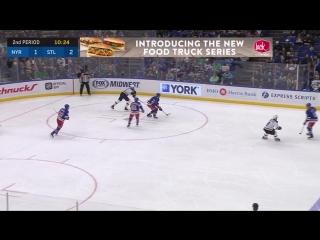 Сент-Луис Блюз 4 : 3(ОТ) Нью-Йорк Рейнджерс. Обзор(Хоккей. НХЛ. )