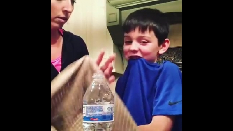 Mom Makes Son Cry After Water Bottle Prank 986615 2