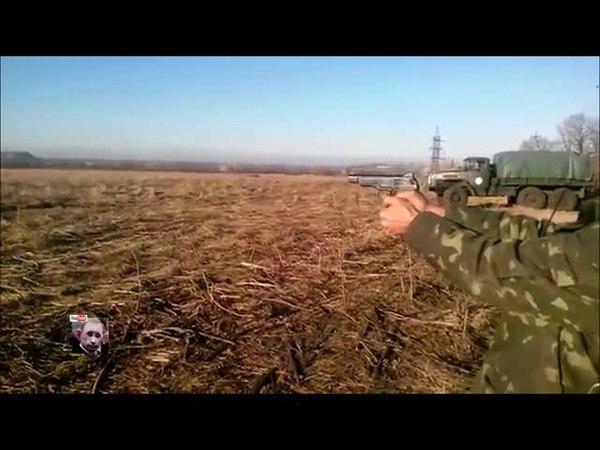 Пистолет Стечкина в действии Стрельба очередью ВСУ