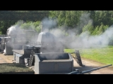 Ржевский полигон - стрельба из 130-мм АУ А-192