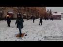 #танцуйвезде Ирландские танцы на Красной площади