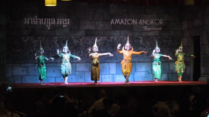 Апсара (национальный камбоджийский танец)
