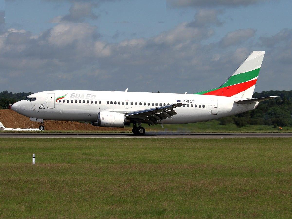 Штатная посадка самолета