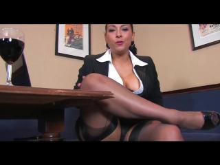 Danica Collins - Secretary (work natural tits busty boobs bbw ass pussy milf mature stepmom sexwife cum)
