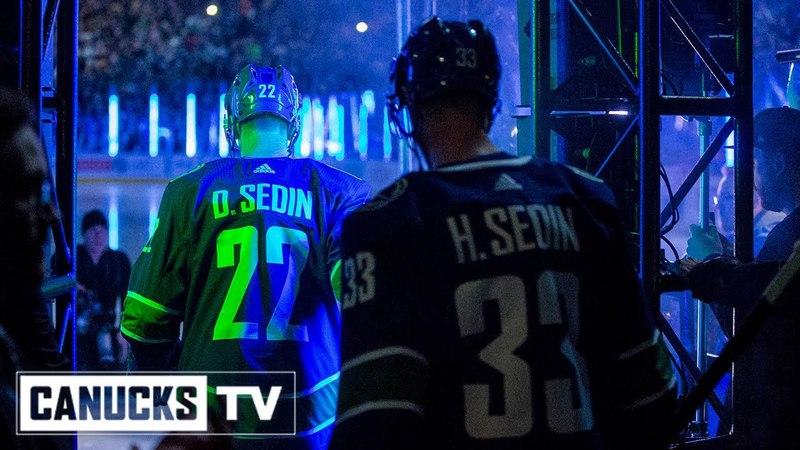 Daniel and Henrik Sedin | Final Skate Out at Rogers Arena
