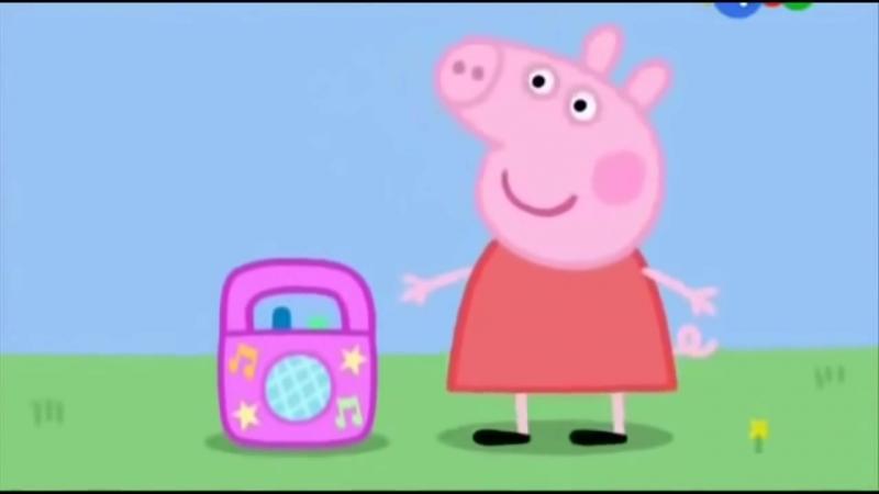 Свинка Пеппа Грибы Интро Типа Грибы 1
