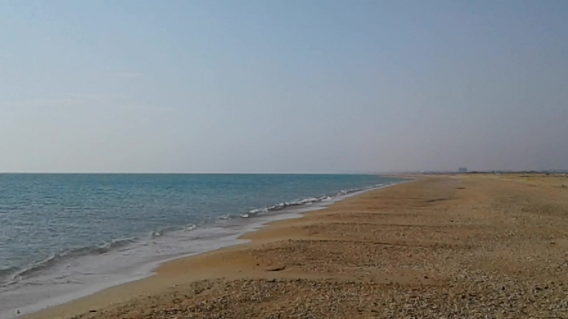 Песочный пляж 50 км Чёрное море.