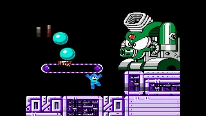 RoEvski - Rockman 4 Burst Chaser X Air Sliding (NES, Mega Man 4 hack)