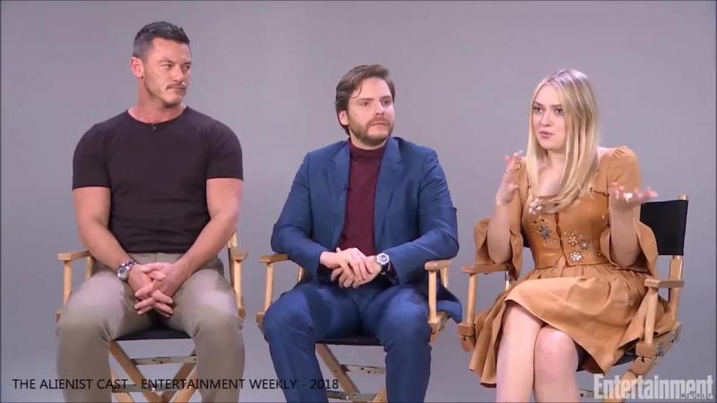 Luke, Daniel and Dakota talking about how The Alienist Is Set in 1896 But Is Still Relevant in 2018 - part 2