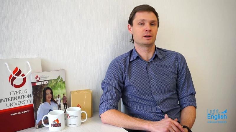 Игорь Егоров о результатах IV Национального тестирования Кипрского международного университета CIU