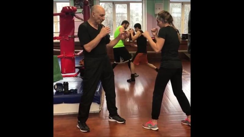 Обучение боксу от заслуженного тренера России Марка Ионовича Мельцера.
