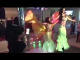 Восточные танцы на свадьбе в ресторане Ашкым _ LINDA SHOW 19931