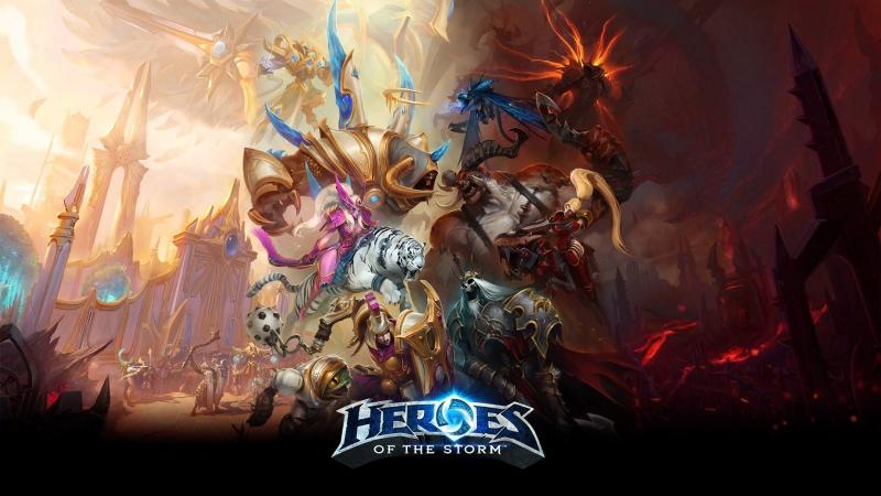 Шоуматч по Heroes of the Storm
