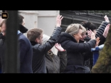 Высланные из Лондона российские дипломаты покинули посольство