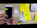 Процесс установки ультра-тонкого защитного стекла на iPhone 7 Plus