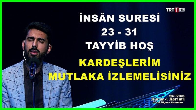 Kur'an ı Kerim'i Güzel Okuma Yarışması Tayyib Hoş Hafta Finali