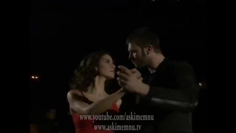 Aşkı-ı Memnu Askı-ı Memnu - 60.Bölüm - Kıvanç Tatlıtuğ ve Beren Saat - Tango Sahnesi