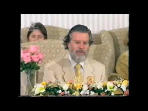 Золотой юбилей благословения Гуру Дева миру ч.4.1 16.7.2000