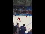 Решающий гол сборной России по хоккею глазами болельщика