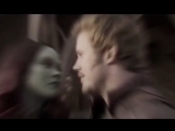 guardians of galaxy | стражи галактики | peter quill | gamora | питер квилл | starlord | звездный лорд| starmora | стармора vine