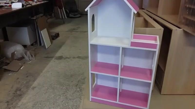 Кукольный домик для кукол барби винкс Дом для игрушек Полки кидс ру
