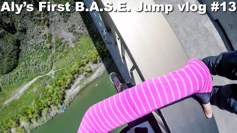 Aly's First B.A.S.E. Jump vlog 13