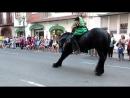 V-s.mobiВеликолепное шоу с испанскими лошадьми на празднике. ВаленсияИспания.mp4