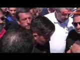 Ultras talking to Dybala